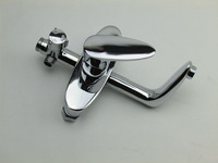 Free Shipping High Quality DONA Solid Brass Bathroom Shower Tap With Single Lever Bathroom Shower Mixer