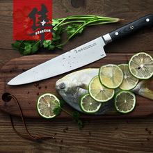 Envío Libre DongSun Multifuncional de Cocina de Acero Inoxidable de Alta Calidad Cuchillo de Cocina Rebanar Cuchillos de Sushi Sashimi de Salmón