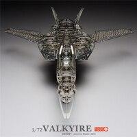 ММЗ модель Жасмин 3D металлические головоломки 1/72 Валькирия пространство крепость Макросс Ассамблея Металл Модель комплект DIY 3D лазерная ре