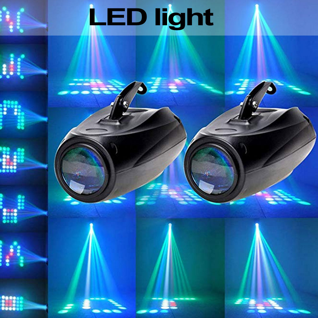 Stage Lights LED Small Airship Activity Lights Disco Lights Club Party Dj Bar Wedding Stage Party Lights