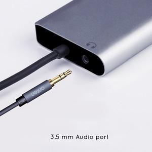 Image 3 - USBC to Rj45 Lan 4K HDMI VGA 2USB 3.0 SD Card Slot Reader 8 In 1 Type C Dock Adapter Hub for Macbook for Samsung Huawei Dex Mode