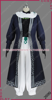 Altair: A Record of Battles Shoukoku no Altair Poison General Zehir Zaganos Uniform Outfit Cosplay Costume S002 image