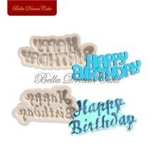 Силиконовые формы для торта с днем рождения форма шоколада diy