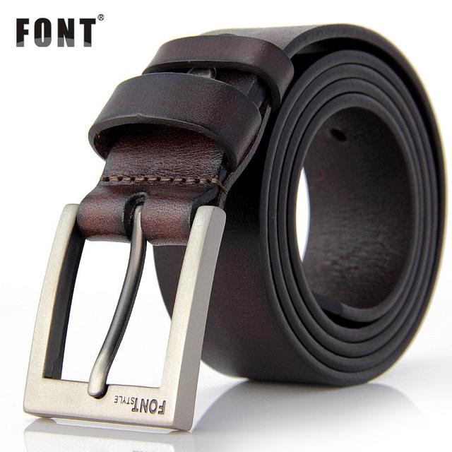 Men's Luxury High Quality Genuine Leather Belt