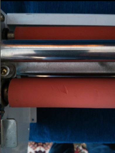 two front rollers generation 12 8350T Laminator A3+Four Rollers Laminator front