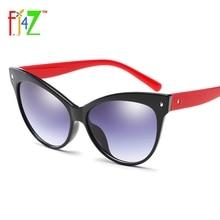 2017 Mew Gafas Protectoras Moda Classic Cat Eye Sunglasses para las mujeres De Plástico Gafas de Lentes de Gradiente Marco UV400 gafas de sol