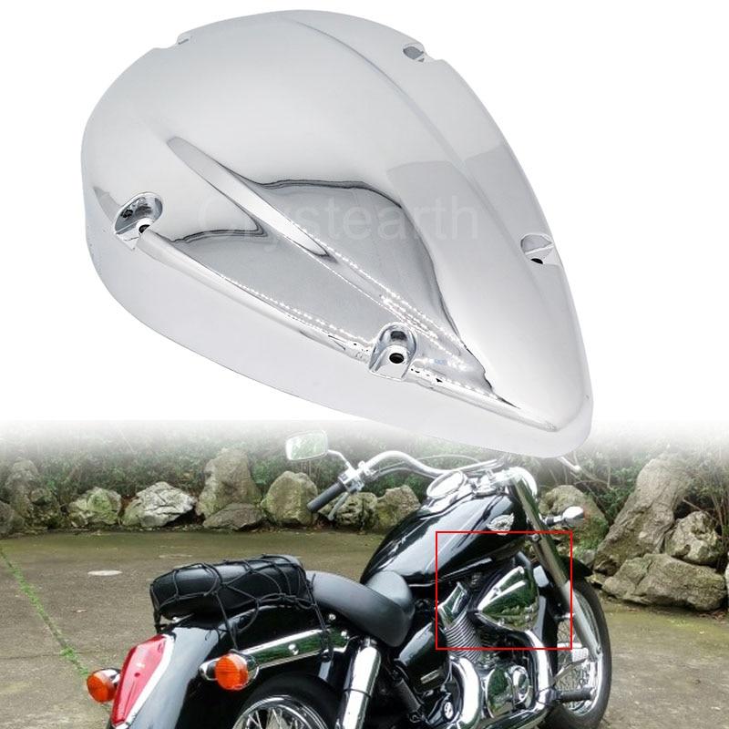 Pour Honda Shadow Aero 750 VT750C 2004-2012 05 06 07 08 09 10 11 Chrome moto filtre filtre couvercle carénage étui