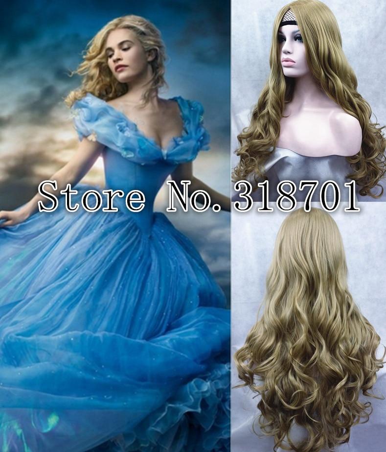 long cosplay wig Cinderella