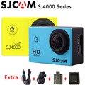 SJ4000 SJCAM SJ4000 Серии \ SJ4000 WIFI Камера Действий Спорта 1080 P HD Водонепроницаемый DV + Автомобильное Зарядное Устройство + Держатель + дополнительная 1 pcsbattery + Зарядное Устройство