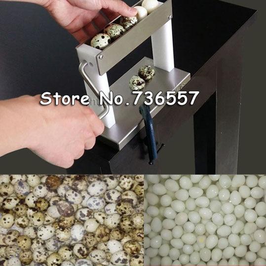 цена на Newest design high efficiency practical household manual quail egg peeler machine huller machine sheller machine