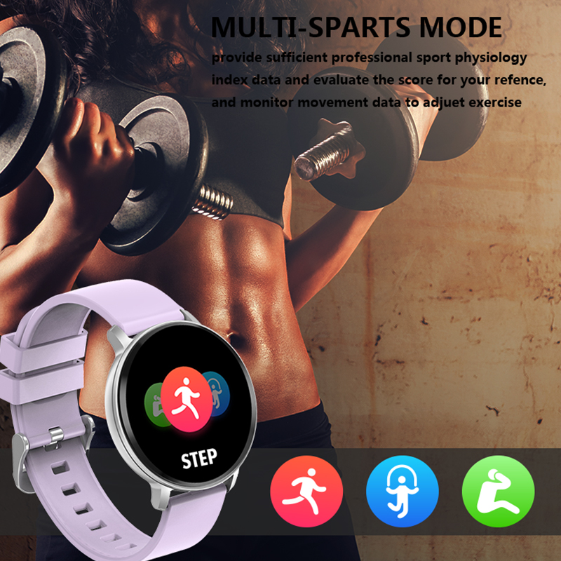 Image 4 - TLXSA Sport Bluetooth Fitness Tracker Smart Watch Waterproof Sleep Heart Rate Blood Pressure Monitoring Watch For Android IOS-in Smart Watches from Consumer Electronics