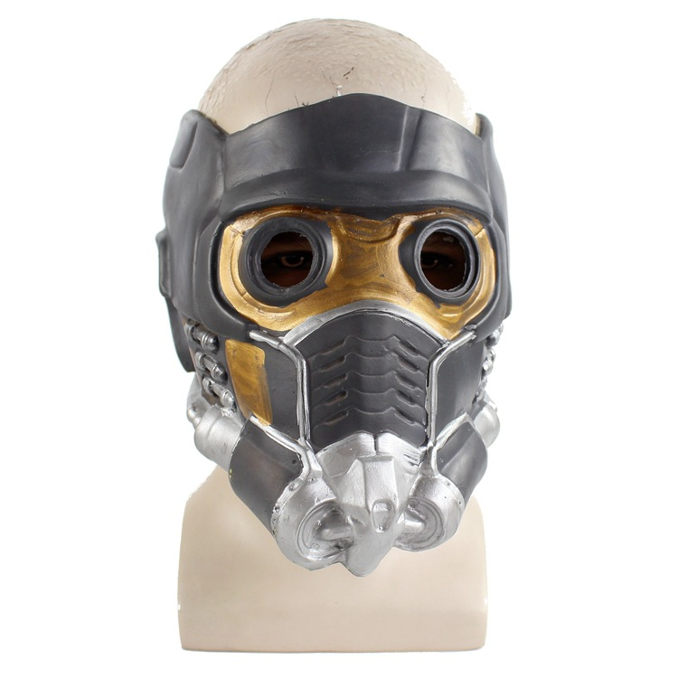 Guardians of the Galaxy Helmet Cosplay Peter Quill Helmet Star Lord Helmet Halloween Party Mask Latex Adults Cosplay Props