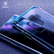 Baseus For Samsung Galaxy S9 Case Luxury Plating Hard Plastic Case For Samsung Galaxy S9 S9 Plus Ultra Thin Transparent Coque
