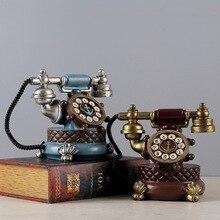 Vintage Resin Phone Piggy Bank Statue&Sculpture Europe Style Movie Props Desktop Crafts Home Decoration Ornaments Kids Gifts 65