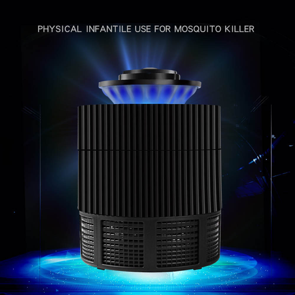 Aleekit Mosquito Killer Lamps USB Photocatalyst LED Anti Mosquito Repellents Fly Trap Wholesale slakkenval