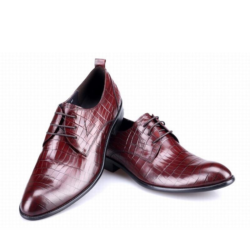 2017 fashion genuine leather men shoes zapatos hombre zapatillas mens casual party business dress wedding shoes embossing plaid new fashion men shoe genuine leather lace up mixed colors man dress business casual shoes zapatillas deportivas zapatos hombre page 5