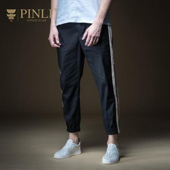 Sweatpants Direct Selling Men Pinli Summer 2019 New Men's Decorated Cotton And Hemp Shoes Leisure Nine-minute Pants B192717601