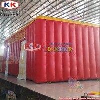 8*4 м ПВХ Air rescue оборудование надувные огонь Защитная палатка имитация задымленное помещение escape палатка
