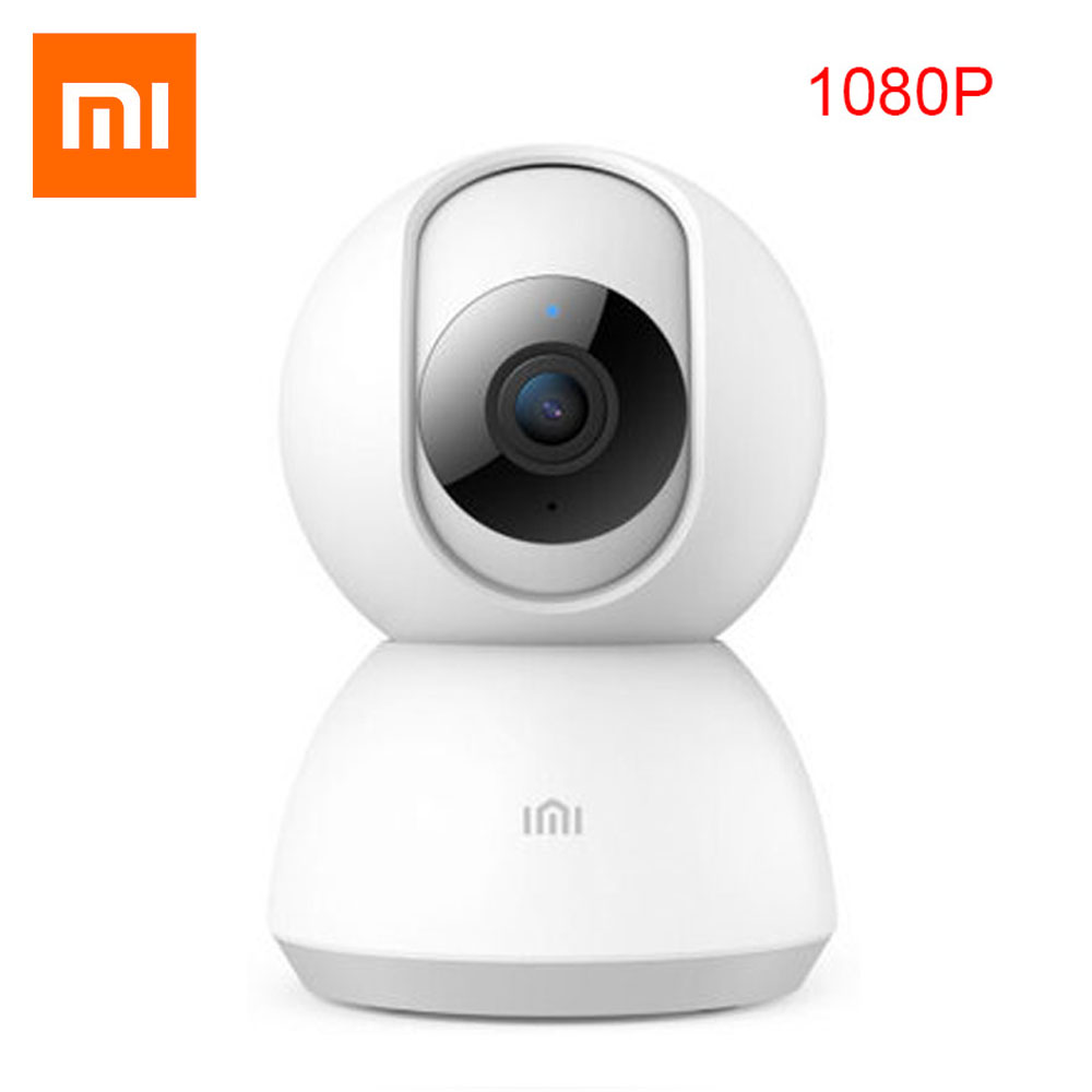 2019 Updated Original Xiaomi Mijia Smart Camera Webcam 1080P WiFi Pan-tilt Night Vision 360 Degree Video Camera Baby Monitor mobile phone