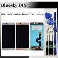 Для Пусть V le LeEco Max 2 Max2 X820 X821 X822 X823 X829 ЖК-Дисплей + Сенсорный Экран Замена Digitizer Ассамблеи + Бесплатная инструменты