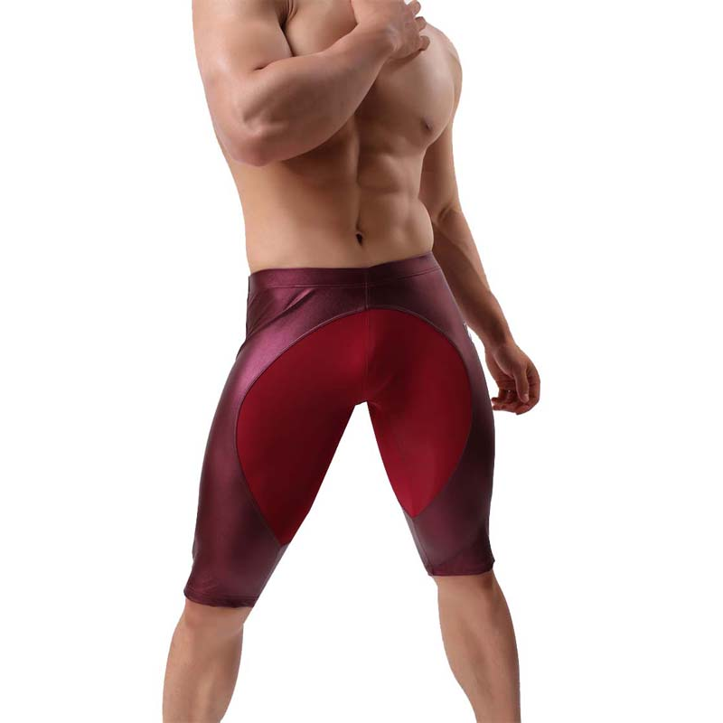 Brave Person High Quality Male Multi-functional Sports Tight Pants Men's Sports Gym Shorts Men Fitness Short