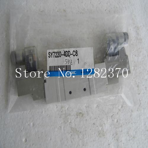 [SA] New Japan genuine original SMC solenoid valve SY7220-4DD-C8 spot --2PCS/LOT [sa] new japan genuine original smc solenoid valve sy3120 5h c4 spot 2pcs lot