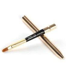Pro Aplicador de Pincel de Labios Pincel de Maquillaje Cepillos Lápiz Labial Maquillaje Belleza Herramientas de Metal