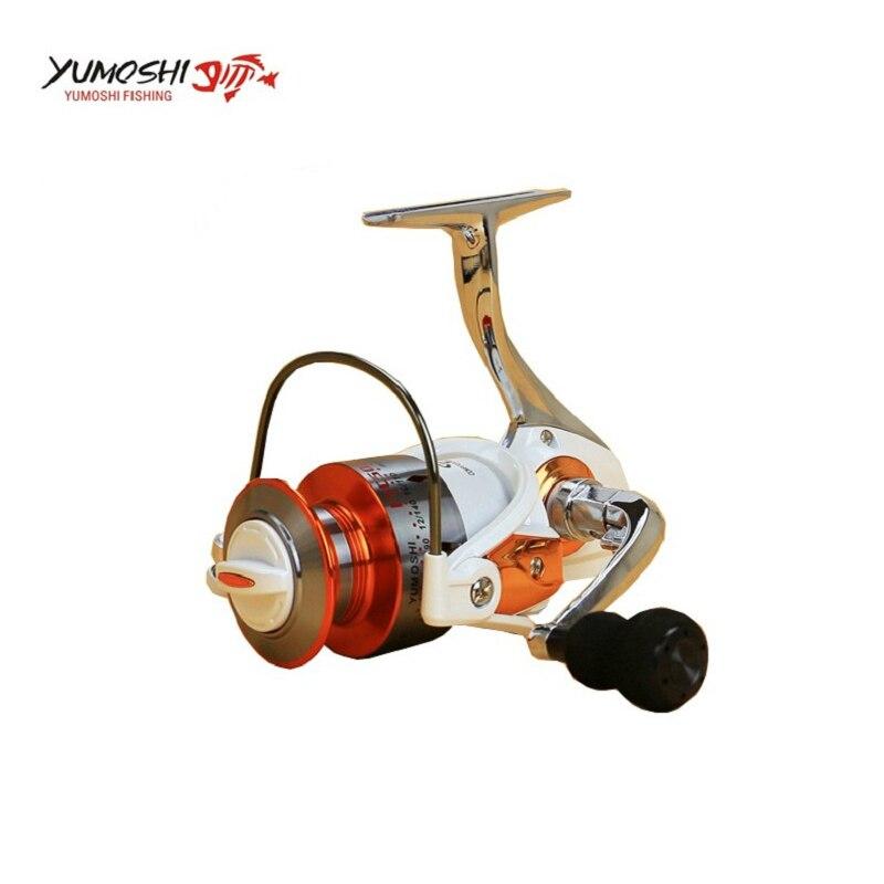 Yomores 12BB + 1 Fishing Spinning Reel 3000-7000 Modelo Ratio 5.5: 1 - Pescando