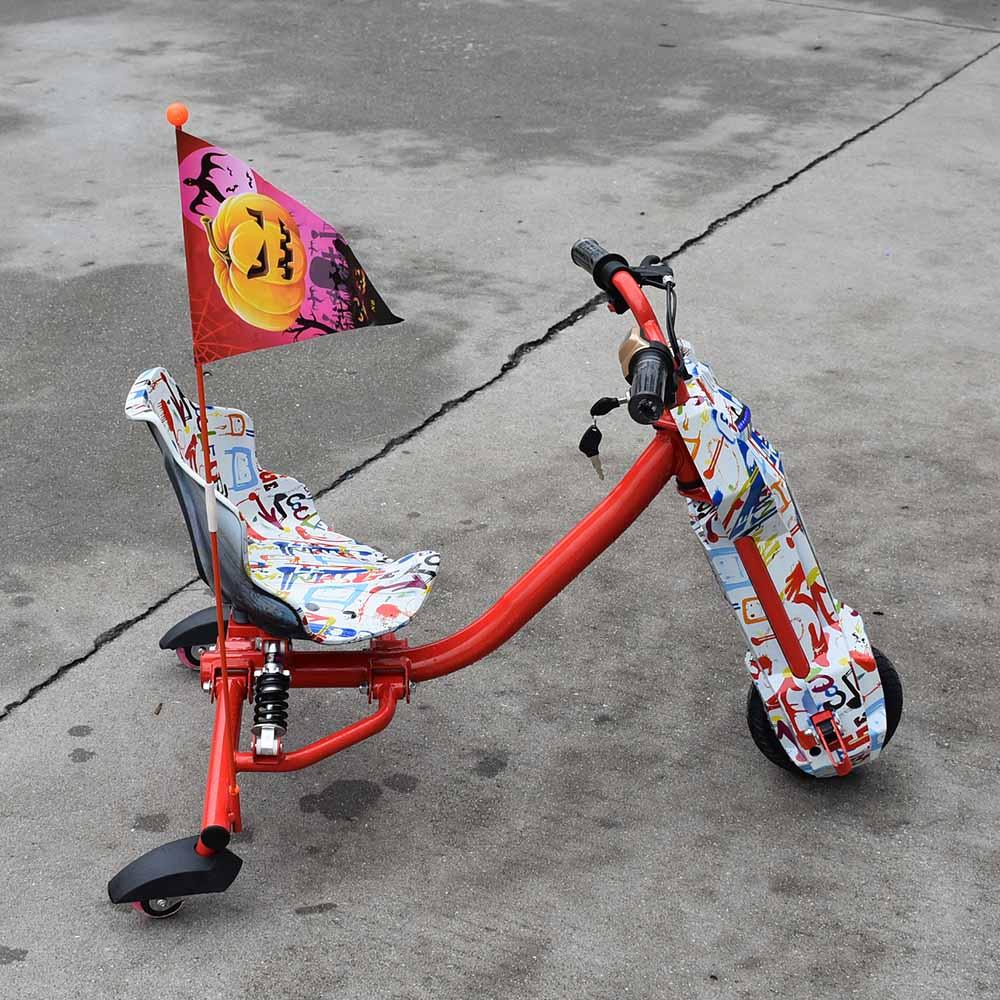 Electric Drift 3 wheels Children Scooter bike hoverboard go kart car skateboard giroskuter go-kart