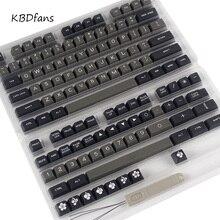 Maxkey dolch SA двойной выстрел ABS колпачки для механической клавиатуры Fit kbd75