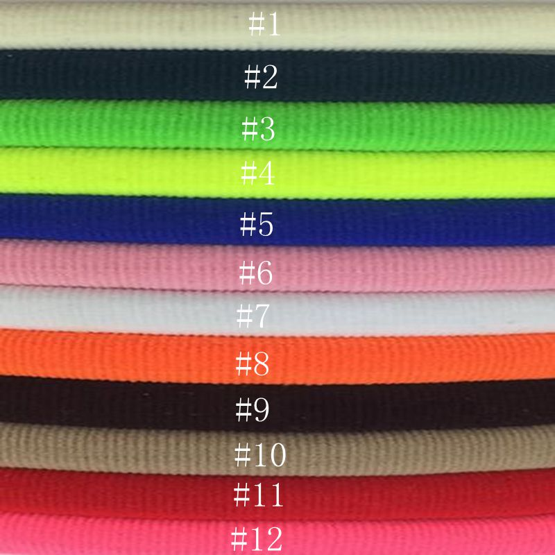 Free shipping 50pcs 12colors 2016 New Solid Elastic Nylon Headband,kids Headbands,Girls and Kids Hairband Hair Accessories
