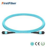 10 шт. волокна MPO патч-кабель 1 м OM3 UPC джемпер женский 12 ядер патч-корд Многомодовый Trunk кабель, тип A Тип B Тип C