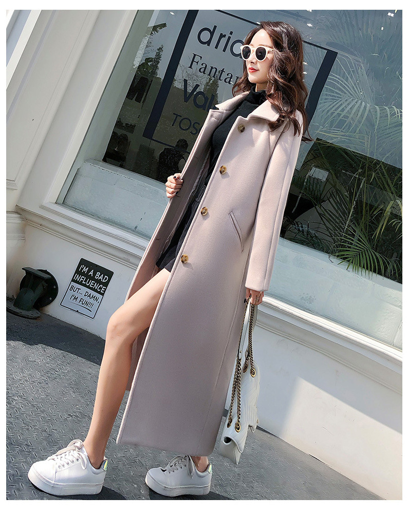 Fashion Winter Trench Coat For Women Long Coat Women Plus Size lingerie manteau femme hiver abrigos mujer invierno 18 5