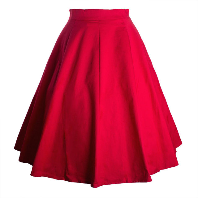 Женщины Цветочный Vintage Midi Saias Юбки Горошек Рокабилли Свинг Юбка Femme Женщин Летние Цветы Юбки