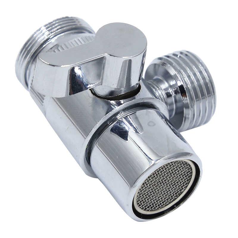 Медный хромированный водосберегающий кран для кухни, ванной комнаты, водопроводный клапан, фитинги для труб, водяной пистолет для дома, аксессуары для ванной комнаты