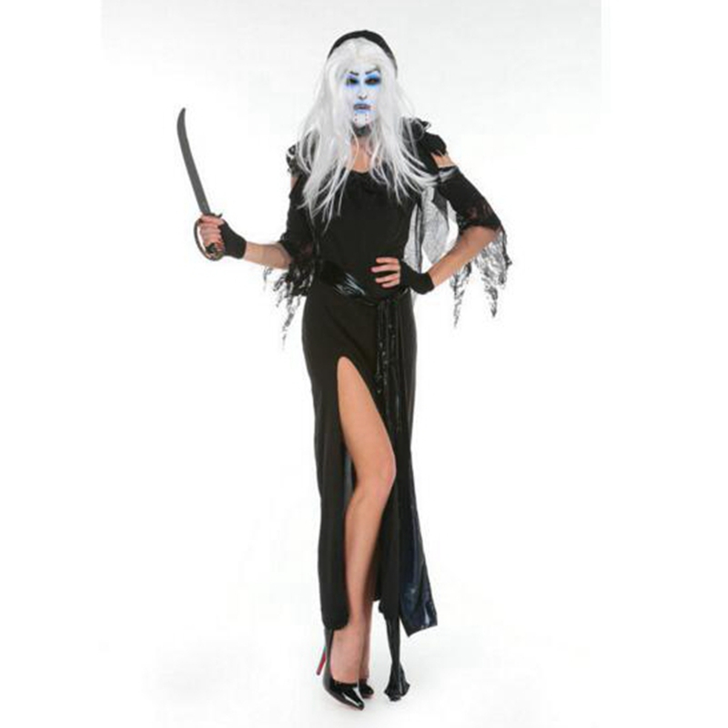 Adult Witch Costume Devil Robes Masquerade Costumes Devil Dess Witch Cosplay Clothing Ha ...