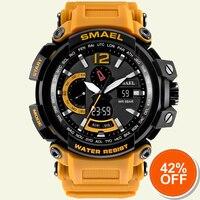 Waterproof Military Watches Genuine SMAEL S Shock Resist Watch Men Digital LED Sports Watch 1702 Big