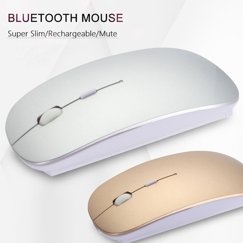 Wireless Mouse for pc Bluetooth Mouse for font b android b font Xiaomi Air Rechargeable 2