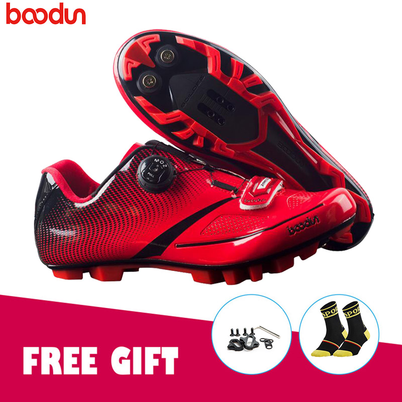 BOODUN Pro Cycling Shoes MTB Bike Bicycle Self-Looking sapato ciclismo Ultralight Athletic bicycle riding shoes Sneakers BOODUN Pro Cycling Shoes MTB Bike Bicycle Self-Looking sapato ciclismo Ultralight Athletic bicycle riding shoes Sneakers