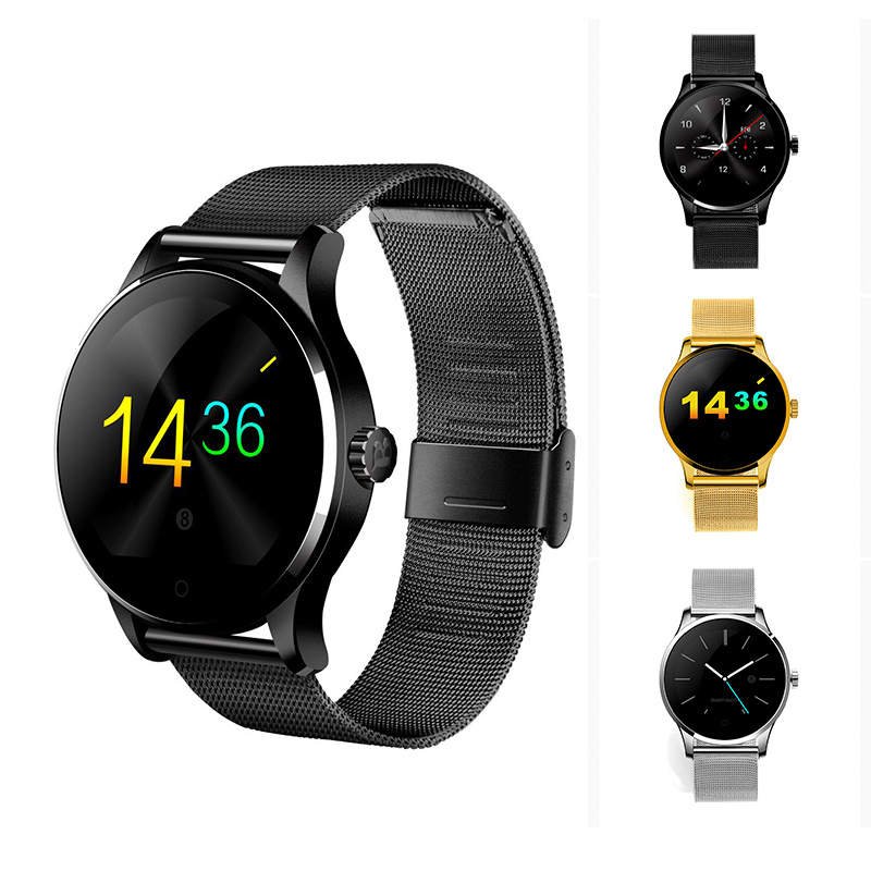 MOCRUX Smart Watch K88H Smartwach 1.2'' IPS Screen Support Heart Rate Monitor Bluetooth Waterproof Smartwatch For IOS Android free shipping smart watch c7 smartwatch 1 22 waterproof ip67 wristwatch bluetooth 4 0 siri gsm heart rate monitor ios