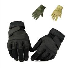 Men's Army Gloves Man Black HawkFull finger gloves