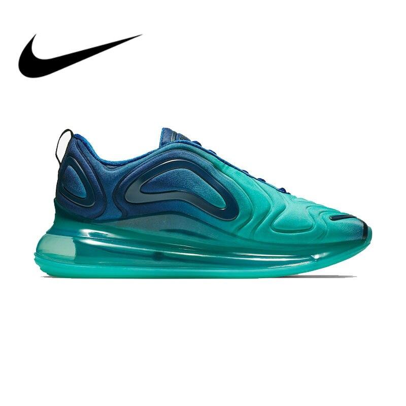 Original auténtico Nike Air Max 720 zapatos deportivos para hombre cómodos zapatillas deportivas de