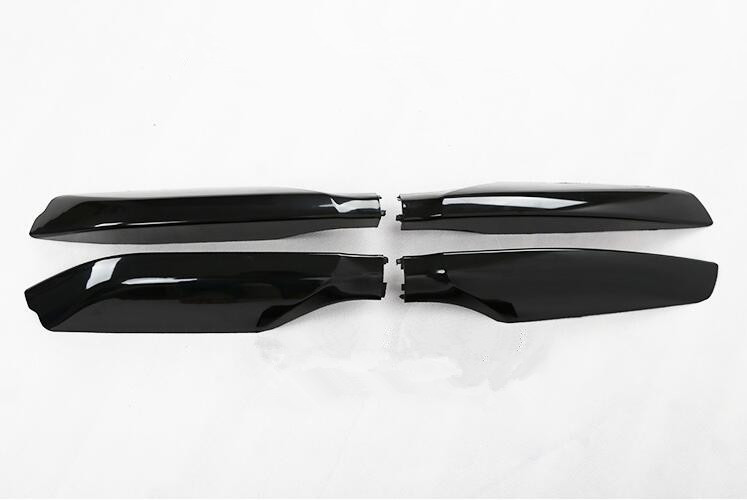 ФОТО ABS Roof Rack Rail End Protective Cover Shell For Toyota Land Cruiser Prado Fj150 2010-2016 , For BLACK or SILVER roof rails
