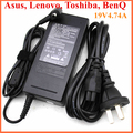 AC110-240V Universal Laptop computer adapter output DC 19V 4.74A  power Wire cord charger power converter