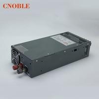 1200 Вт 24 В 50A Регулируемый 110 В вход одиночный выход импульсный источник питания для светодиодной полосы света AC к DC