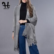 FURTALK Women's Fashion 100% Lamb Wool Scarf Long Shawl Big Grid Winter Spring Warm Lattice Large Scarf Shawl Pashmina