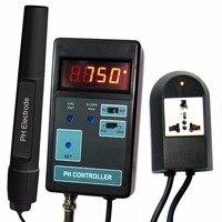 Kỹ thuật số LCD Hiển Thị pH CO2 Điều Khiển Meter Aquarium Fish Tank 0.00 ~ 14.00PH Phạm Vi + Switched Ổ Cắm 220 V-230 V hoặc 100-110 V