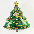 78*60CM Outdoor Indoor Toys Cartoon Christmas Tree Foil Balls Party Decoration Inflatable Air Toys For Gift