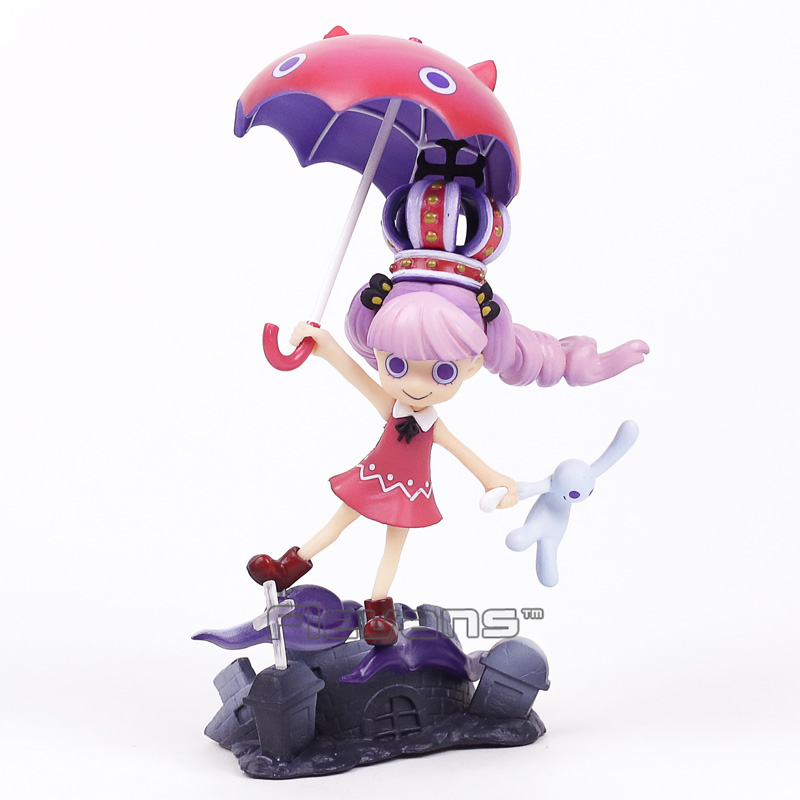 Anime One Piece P.O.P Excellent Model Limited Perona Gothic PVC Figure Collectible Model Toy 17cm anime one piece dracula mihawk model garage kit pvc action figure classic collection toy doll