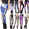 Hot! Sexy! Digital 3D Printed All-Match Leggings Summer Spring Harajuku Finess Women  Leggins Creative Elastic Slim Pants